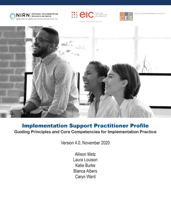 Implementation Support Practitioner Profile