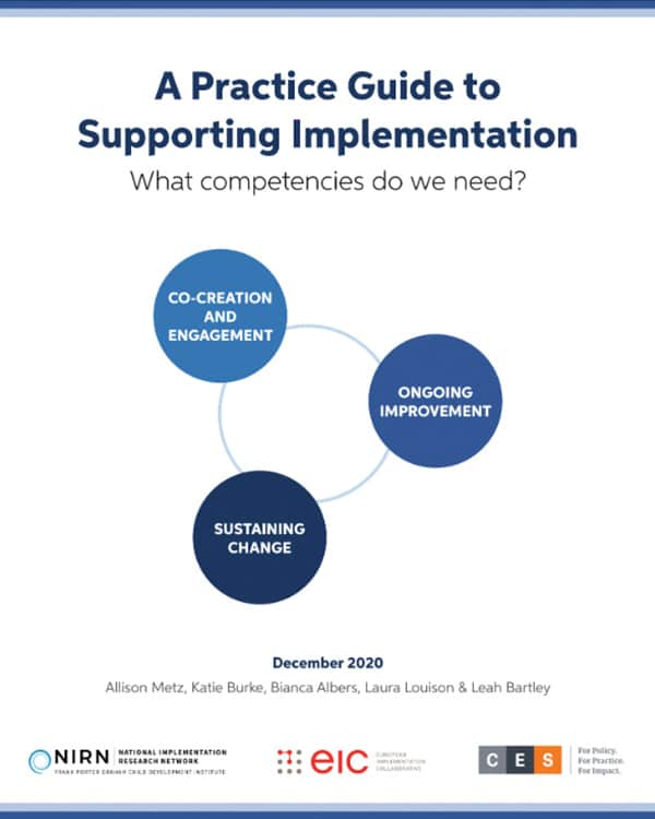 A Practice Guide to Supporting Implementation